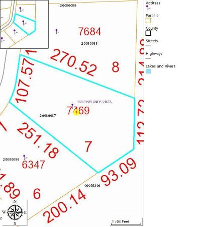 Jackson Springs Residential Lots & Land For Sale: 150 Pinelands