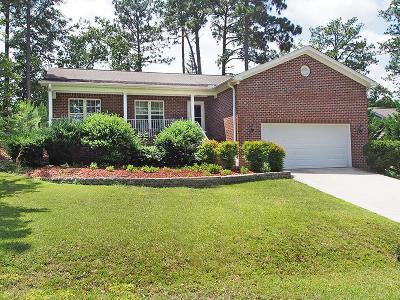 Pinehurst Single Family Home For Sale: 2165 W Longleaf Drive