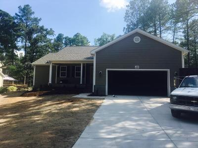 Pinehurst Single Family Home Active/Contingent: 435 Gun Club Drive