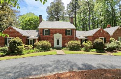 Southern Pines NC Single Family Home For Sale: $1,100,000