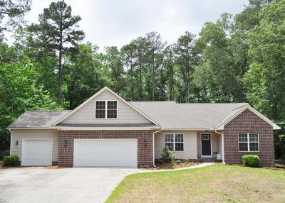Whispering Pines Single Family Home For Sale: 29 Sunset Drive
