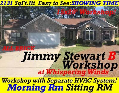 Whispering Pines Single Family Home For Sale: 42 Winding Trail