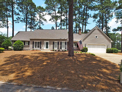 Pinehurst Single Family Home Active/Contingent: 20 Baltusrol Lane