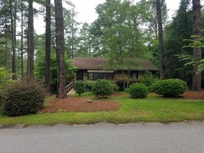 Southern Pines Single Family Home For Sale: 500 S Valley Road