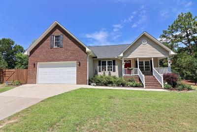 Pinebluff Single Family Home Active/Contingent: 101 Ryder Cup Boulevard