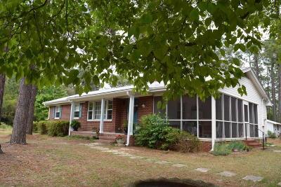 Pinehurst Single Family Home For Sale: 111 Hillard Road