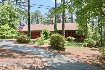 Southern Pines Single Family Home Active/Contingent: 427 Hill Road