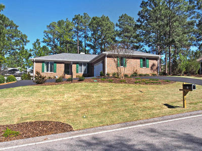 Pinehurst Single Family Home For Sale: 3 Deerwood Lane