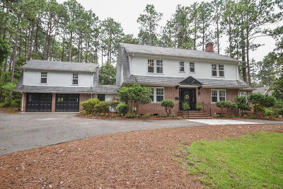 Southern Pines Single Family Home For Sale: 255 Hill Road