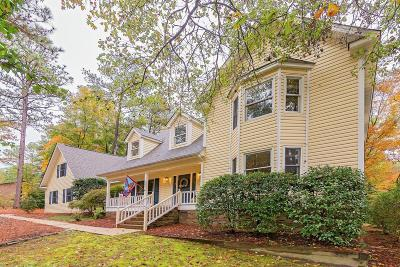 Southern Pines Single Family Home Active/Contingent: 265 S Bethesda Road