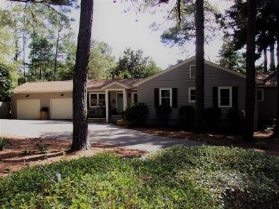 Southern Pines Single Family Home For Sale: 705 S Ridge Street