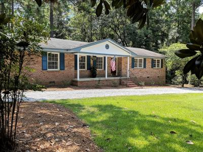 Southern Pines Single Family Home For Sale: 185 S Bethesda Road