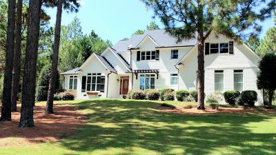 Moore County Single Family Home Active/Contingent: 155 High Point Road