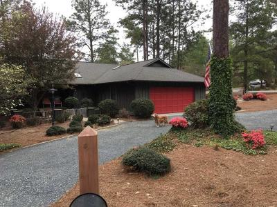 Pinehurst Single Family Home Active/Contingent: 105 SW Lake Forest Drive