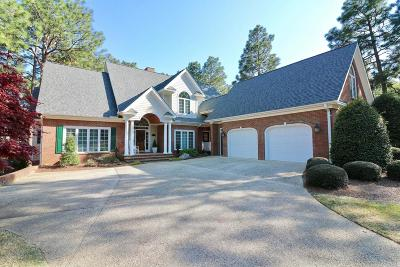 Southern Pines Single Family Home Active/Contingent: 25 Steeplechase Court Court