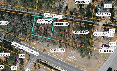 Vass Residential Lots & Land For Sale: Lot 20 W Maple Street