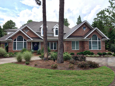 Moore County Single Family Home Active/Contingent: 42 Abbottsford Drive