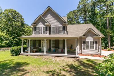 Southern Pines Single Family Home Active/Contingent: 140 Steelman Road