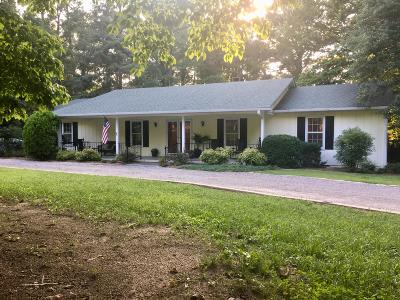 Whispering Pines Single Family Home For Sale: 52 Sunset Drive