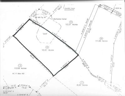 Carthage Residential Lots & Land Active/Contingent: 485 Stage Road
