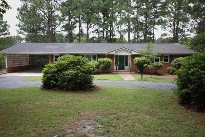Moore County Single Family Home Active/Contingent: 3 Piney Point