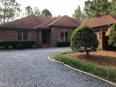 Pinehurst Single Family Home Active/Contingent: 140 N Surry Circle
