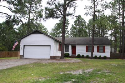 Pinehurst Single Family Home Active/Contingent: 2 Peebles Place