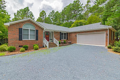 Pinehurst Single Family Home Active/Contingent: 190 Oakmont Circle