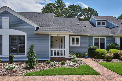 Southern Pines Condo/Townhouse Active/Contingent: 267 N Knoll Road