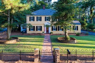 Southern Pines Single Family Home For Sale: 310 E Morganton Road