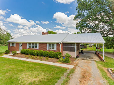 Moore County Single Family Home Active/Contingent: 675 Flint Hill Church Road