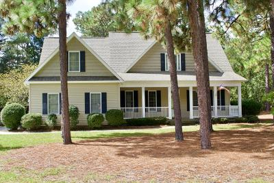Moore County Single Family Home For Sale: 1055 N Ft. Bragg Road