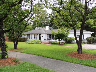 Southern Pines Single Family Home Active/Contingent: 470 E Indiana Avenue