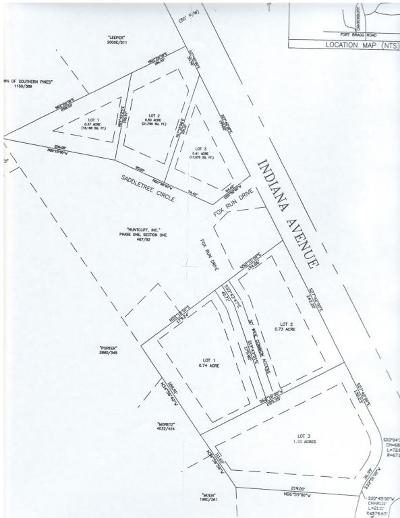 Southern Pines Residential Lots & Land For Sale: 1620/1640 E Indiana Avenue