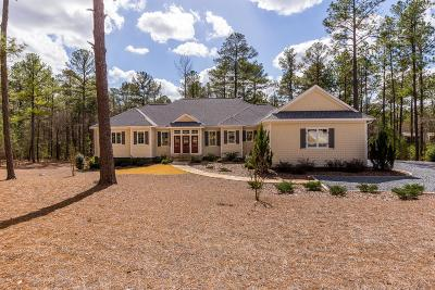 Pinehurst Single Family Home For Sale: 43 Ridgeland Street