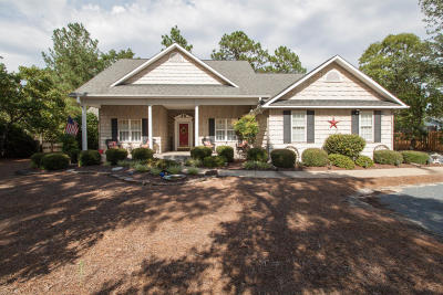 Pinehurst Single Family Home Active/Contingent: 1200 Monticello Drive