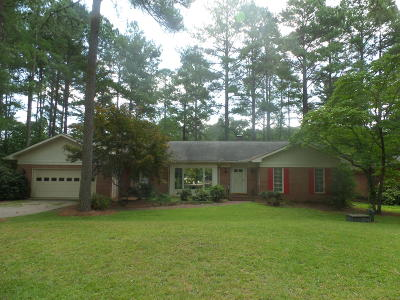 Whispering Pines Single Family Home For Sale: 12 Fairway Drive