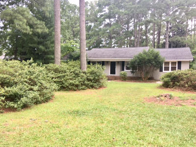 Southern Pines Single Family Home Active/Contingent: 620 Saunders Boulevard