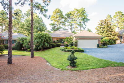 Southern Pines Single Family Home Active/Contingent: 50 Highland View Drive