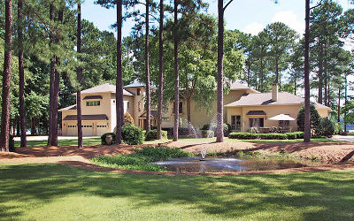 Whispering Pines Single Family Home For Sale: 100 S Lakeshore Drive