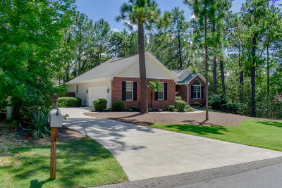 Pinehurst No. 6 Single Family Home Active/Contingent: 150 Kingswood Circle