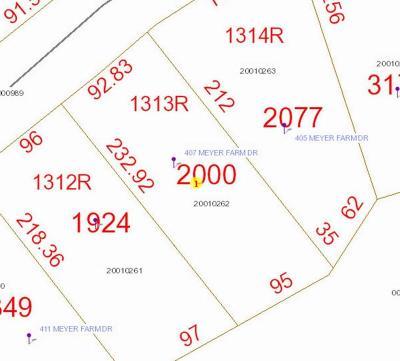 Pinehurst Residential Lots & Land For Sale: 407 Meyer Farm Drive