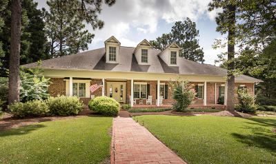 Pinehurst NC Single Family Home For Sale: $595,000