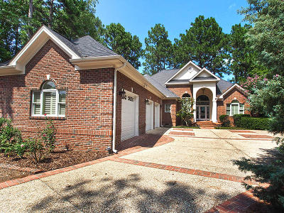 Pinehurst NC Single Family Home For Sale: $749,000