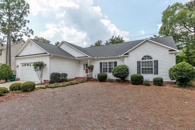 Pinehurst NC Single Family Home For Sale: $230,000