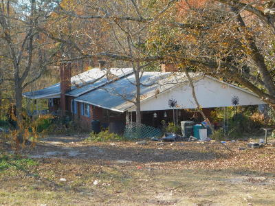 Carthage Single Family Home For Sale: 2792 U.s. Hwy 15/501