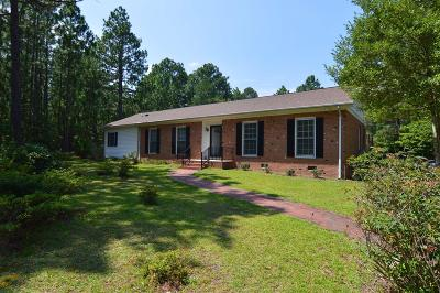 Carthage Single Family Home Active/Contingent: 1180 McCaskill Road