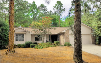 Pinehurst NC Single Family Home For Sale: $218,000