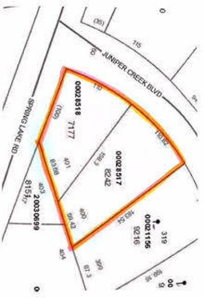 Residential Lots & Land For Sale: 321 Juniper Creek Boulevard