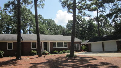 Whispering Pines NC Single Family Home Active/Contingent: $259,000